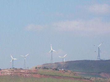 Windfarms in Chitradurga