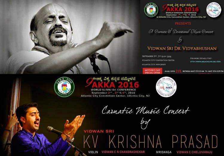 Dr. Vidyabushan & K.V.Krishnaprasad