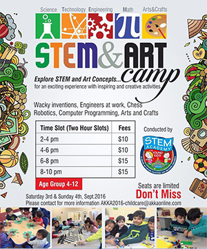 Stem & Art Camp